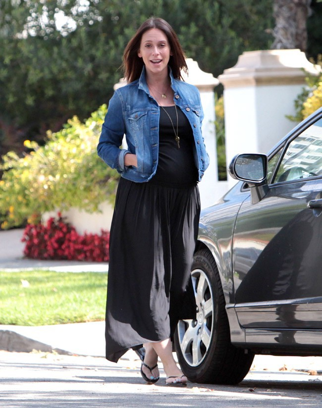 Jennifer Love Hewitt à Los Angeles le 9 août 2013