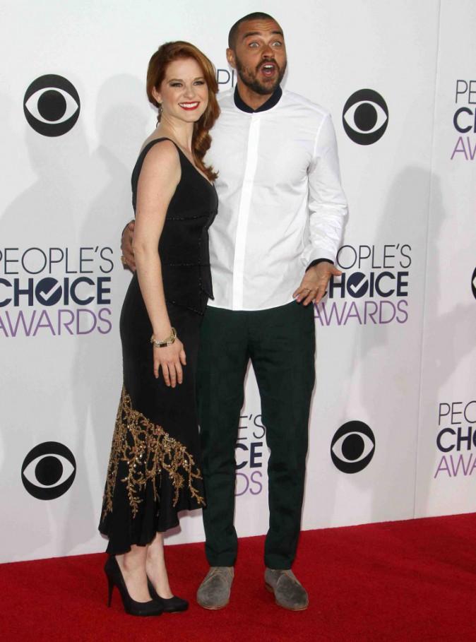 Jesse Williams et Sarah Drew : le casting de Grey's Anatomy se retrouve sur le tapis rouge !