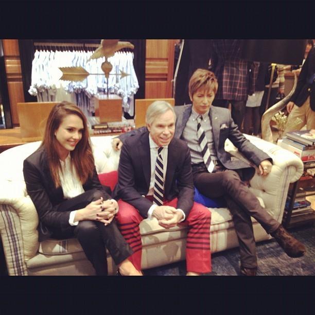 Avec Tommy et Gackt