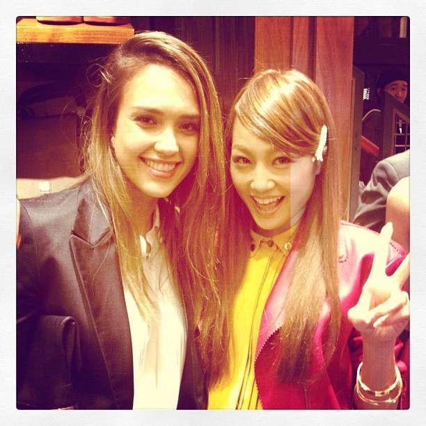 Jessica et une chanteuse japonaise