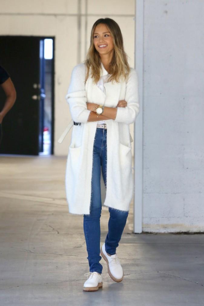 Photos : Jessica Alba : à la recherche de l'endroit idéal pour sa future boutique !