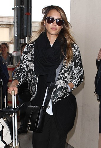 Jessica Alba à Los Angeles le 30 avril 2013