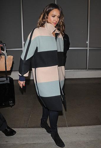Jessica Alba à Los Angeles le 5 mars 2014