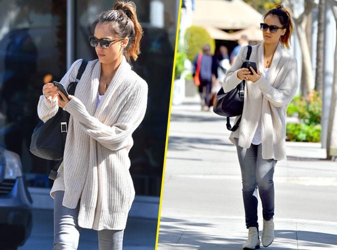 Jessica Alba à Beverly Hills le 2 novembre 2014