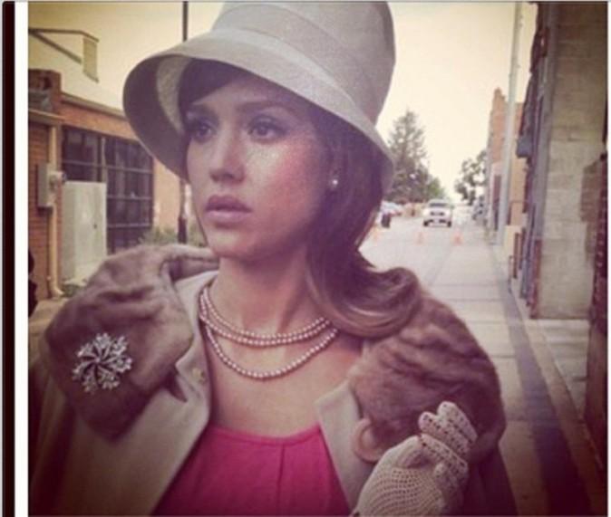 Jessica Alba sur le tournage de Dear Eleanor