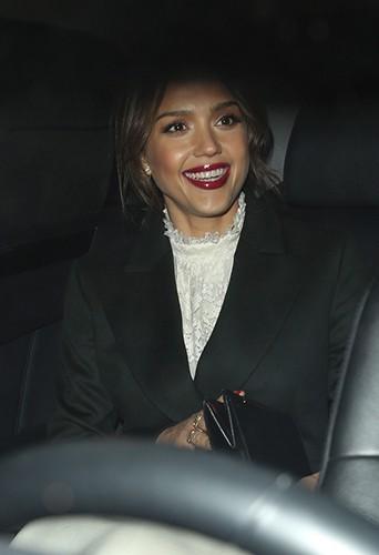 Jessica Alba à Paris le 26 février 2014