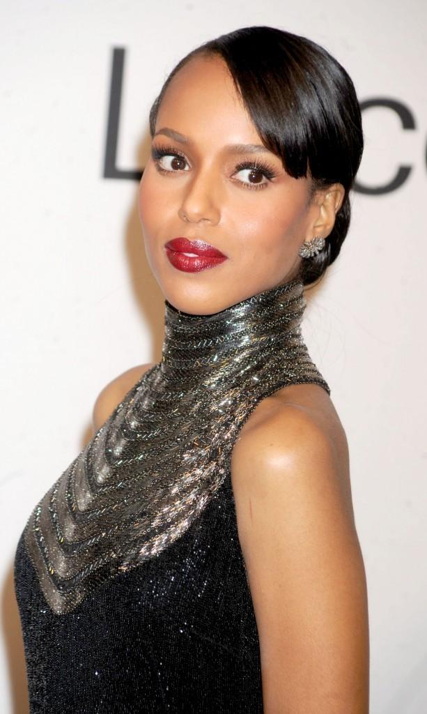 """Kerry Washington lors de la soirée """"An Evening with Ralph Lauren"""" à New York, le 24 octobre 2011."""
