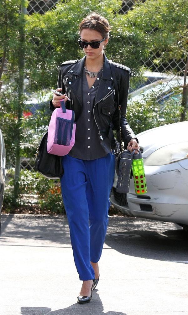 Jessica Alba le 9 octobre 2012 à Santa Monica