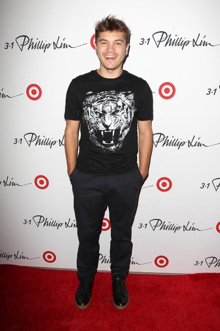 Emile Hirsch lors d'un événement mode à New York, le 5 septembre 2013.