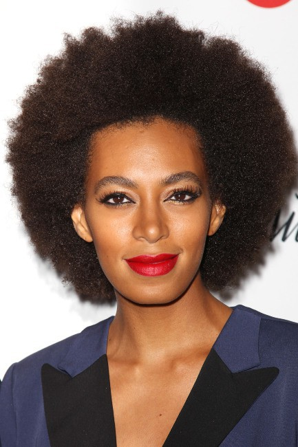Solange Knowles lors d'un événement mode à New York, le 5 septembre 2013.