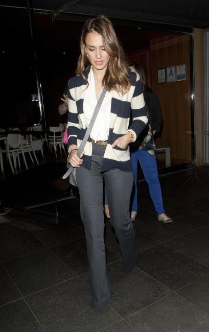Jessica Alba à Los Angeles, le 28 février 2012.