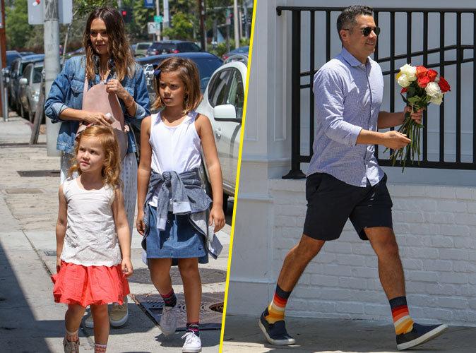 Jessica Alba, Cash Warren et leurs enfants