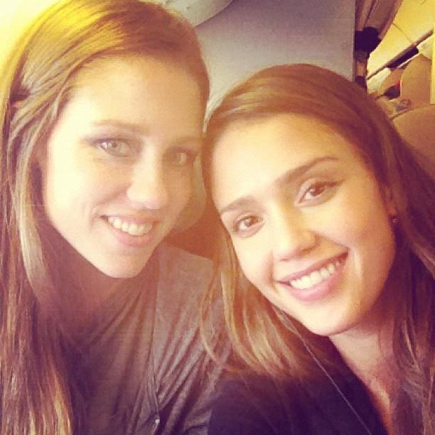 Nikki et Jessica à leur départ de Los Angeles !