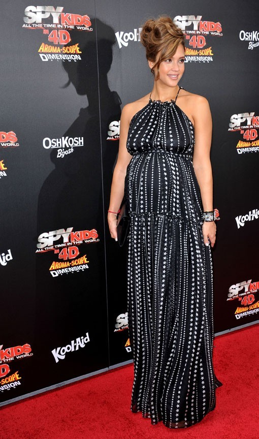 Jessica Alba lors de la première de Spy Kids: All The Time In The World à Los Angeles, le 31 juillet 2011.