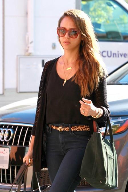 Photos : Jessica Alba : énième apparition ultra-lookée de l'actrice !