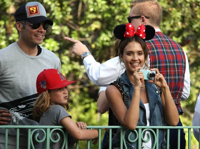 Jessica Alba : journée en famille chez Minnie et Mickey pour le 6eme anniversaire de son aînée, Honor Marie !