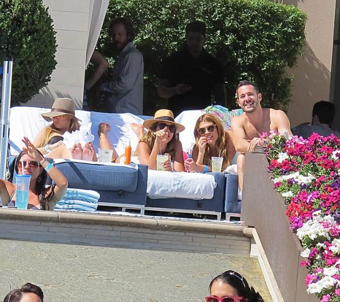 Jessica Alba à Las Vegas le 10 mai 2014