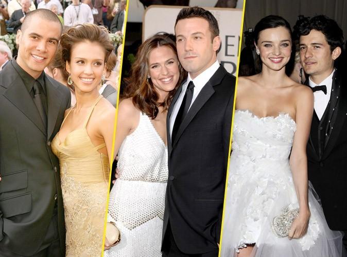 Photos : Jessica Alba, Orlando Bloom, Ben Affleck... quand les stars se marient, pas besoin d'en faire tout un plat... la preuve !