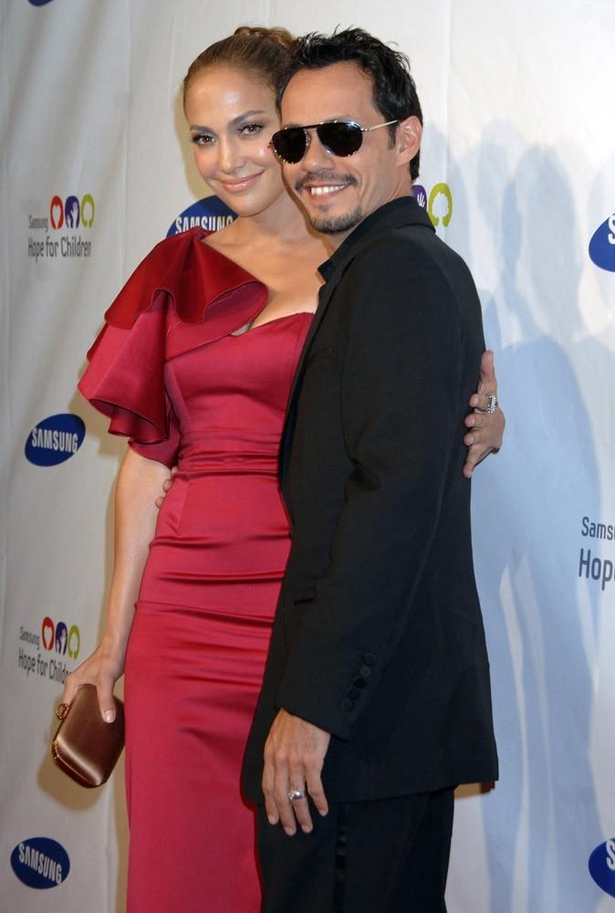 Photos : le mariage incognito de Jennifer Lopez et Marc Anthony