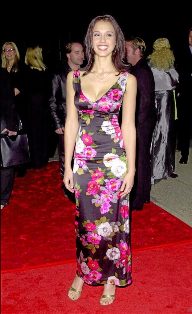 Jessica Alba à 20 ans : premiers tapis rouges...