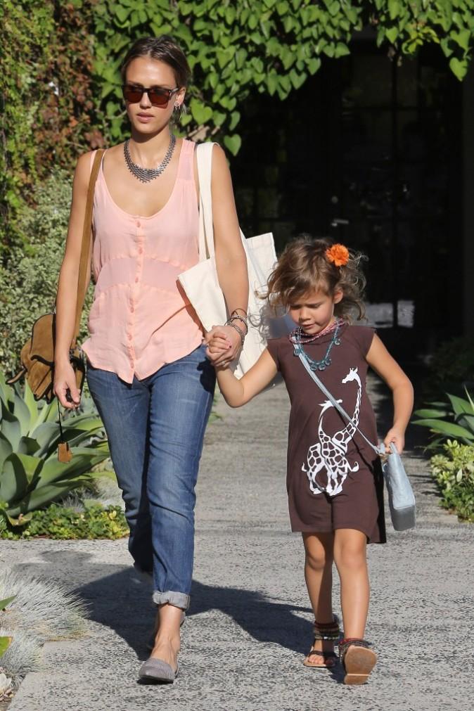 Photos : Jessica Alba : sa fille aînée Honor Marie est une vraie petite poupée !