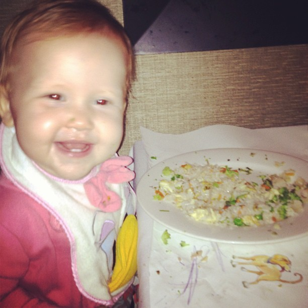 Haven aime manger chinois