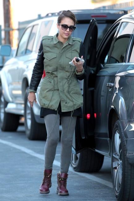 Jessica Alba le 14 janvier 2013 à Los Angeles