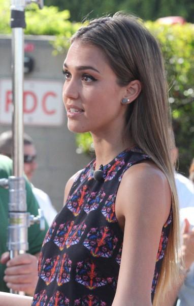 Jessica Alba en promo à Los Angeles, le 26 septembre 2013.