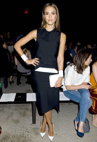 Jessica Alba à New-York le 10 septembre 2013