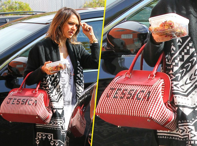 Jessica Alba à Los Angeles le 6 février 2014