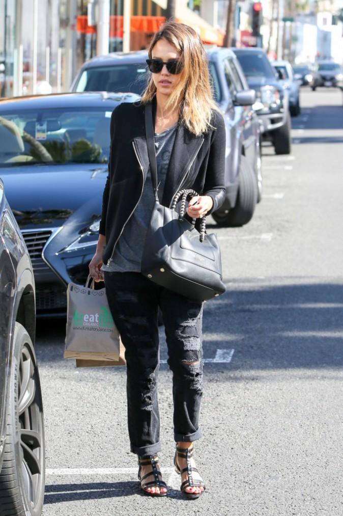 Jessica Alba le 8 mars 2015