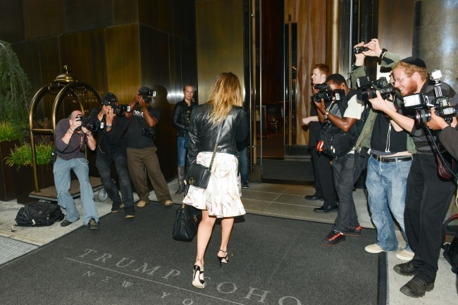 Jessica Alba à New York, le 3 octobre 2012.