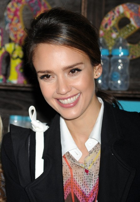 Jessica Alba lors de la 13e Biggest Baby Shower Ever à New York, le 9 mai 2012.