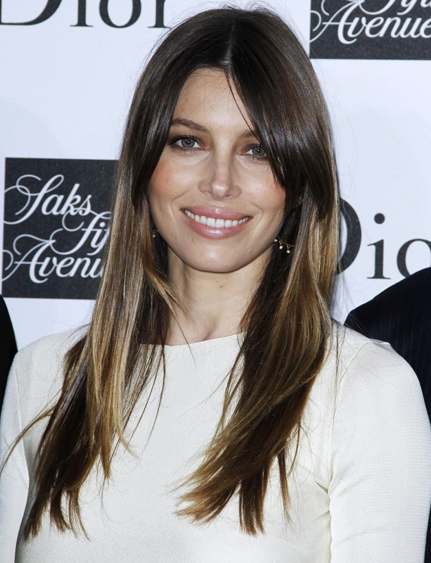 Jessica Biel à la Fashion Week de New York deux jours de suite