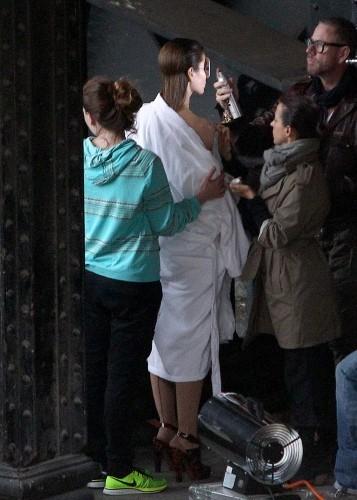 Jessica Biel le 7 octobre 2012 à Paris
