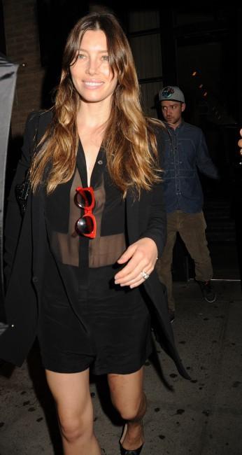 Jessica Biel à New York, le 26 août 2013.