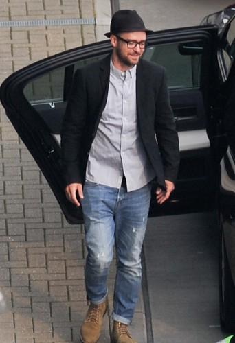 Justin Timberlake à Londres le 27 mars 2014