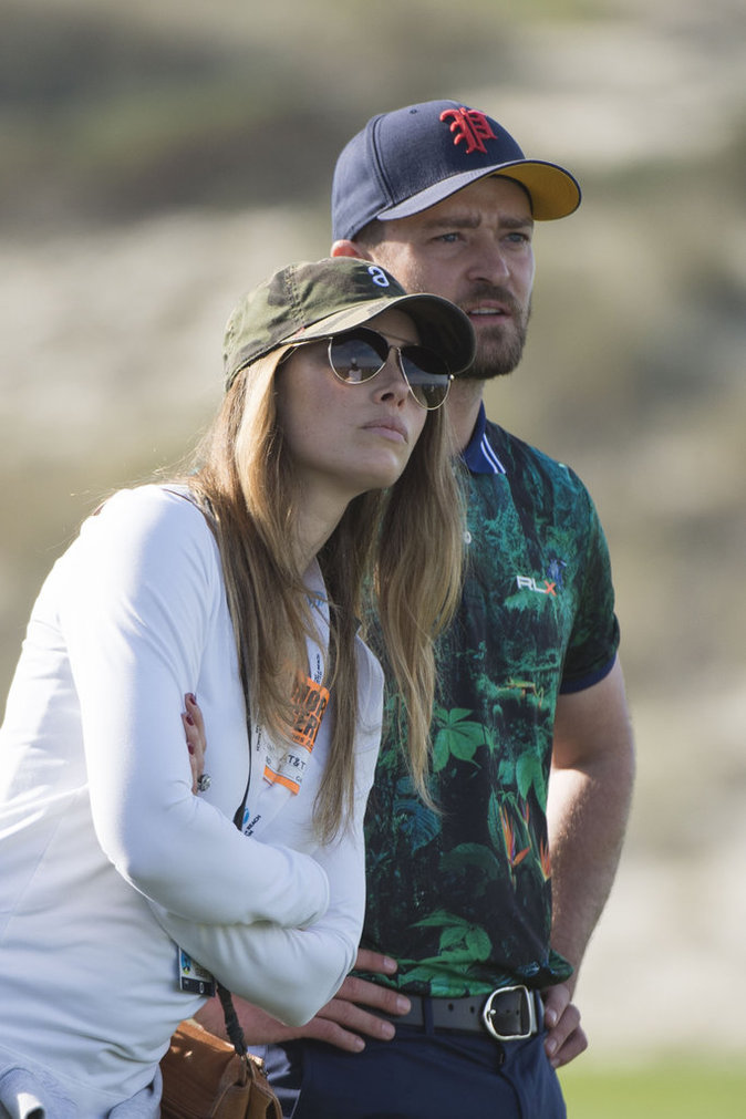 Photos : Jessica Biel et Justin Timberlake : le bonheur, en plein dans le mille !