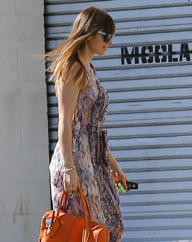 Jessica Biel, West Hollywood, 9 février 2013