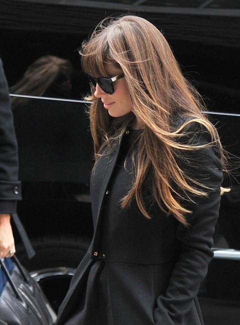 Jessica Biel en balade à New York, le 19 novembre 2012.