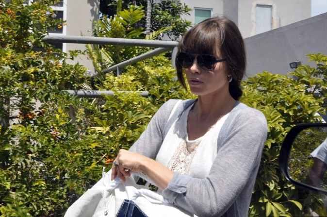 Jessica Biel le 1er juillet 2012 à Porto Rico