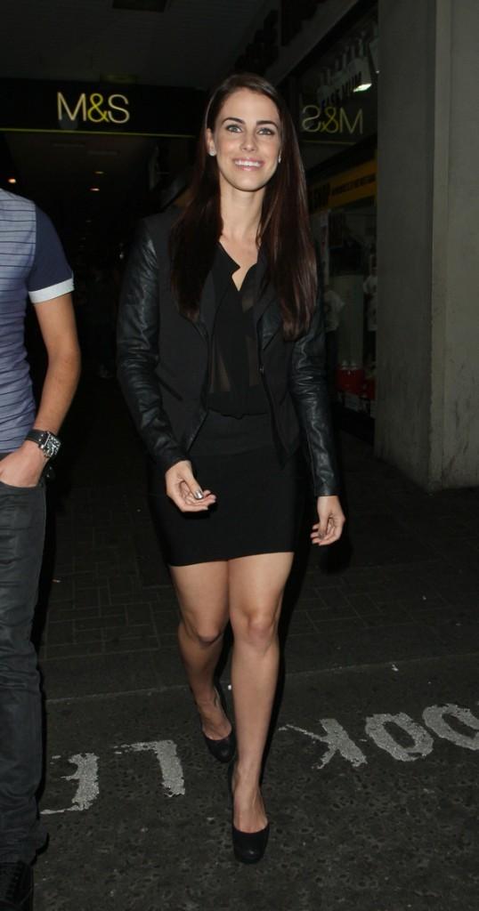 Jessica Lowndes le 5 août 2012 à Londres