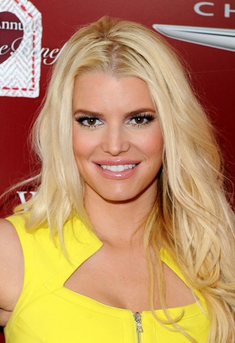 Jessica Simpson à Los Angeles le 13 avril 2014