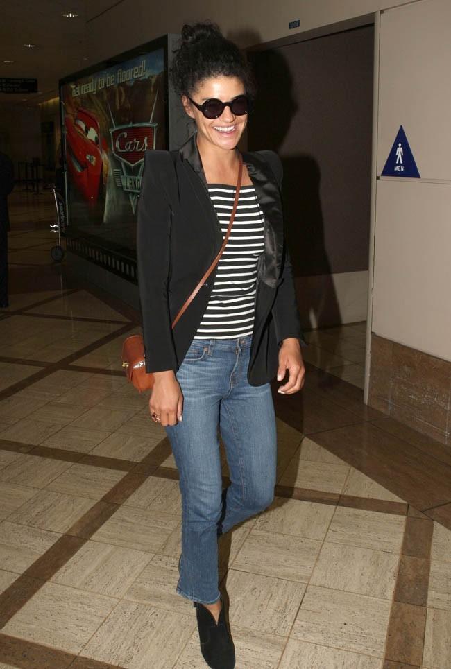 Jessica Szohr le 27 août 2012 à Los Angeles