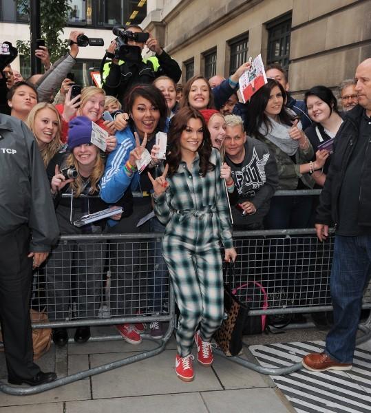 Jessie J, Londres, 27 septembre 2012.