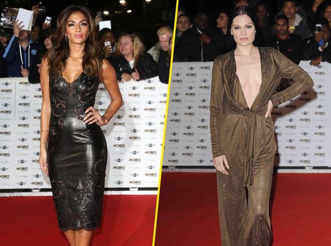 Jessie J et Nicole Scherzinger : entre décolletés et corps moulés, les filles ont fait grimper la température sur le tapis rouge !
