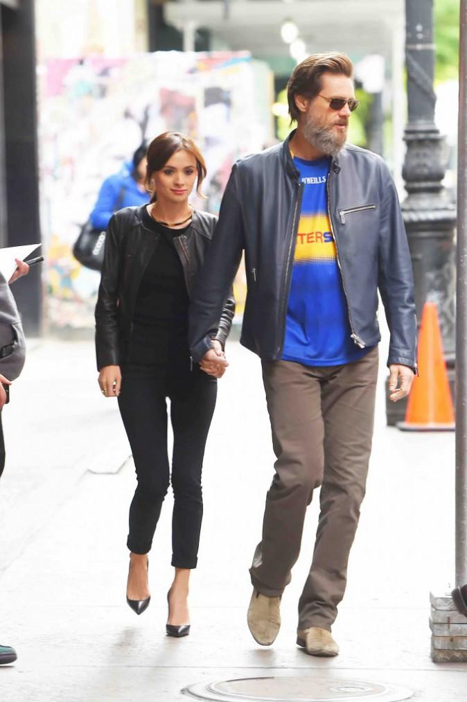 Jim Carrey : avec la jeune Cathriona White, c'est reparti !