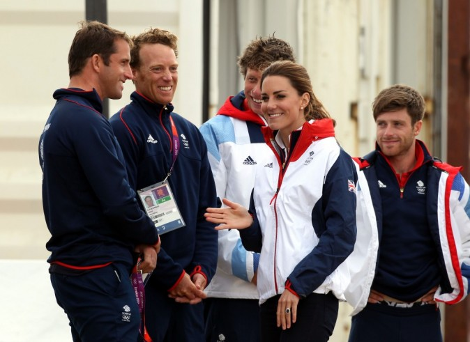 Kate Middleton, Weymouth, Angleterre, 6 août 2012.