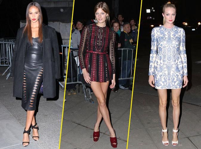 Photos : Joan Smalls, Constance Jablonski et Lindsay Ellingson : duel de tops pour Vanity Fair !