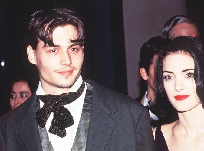 Johnny Depp a été fiancé à l'actrice Winona Ryder !